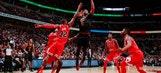 Wade, Love, James lead surging Cavaliers over Bulls 113-91