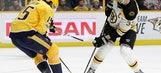 Smith scores twice to lead Predators over Bruins 5-3