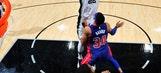 Aldridge's double-double rallies Spurs past Pistons 96-93