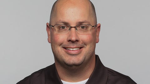 FILE - In this 2015, file photo, Kurt Roper is shown. Some victories mean more than others and to South Carolina offensive coordinator Kurt Roper beating Vanderbilt last week meant more than starting 1-0 _ it meant the Gamecocks got to see that all the work demanded from Will Muschamp's staff could lead to success. (AP Photo/File)