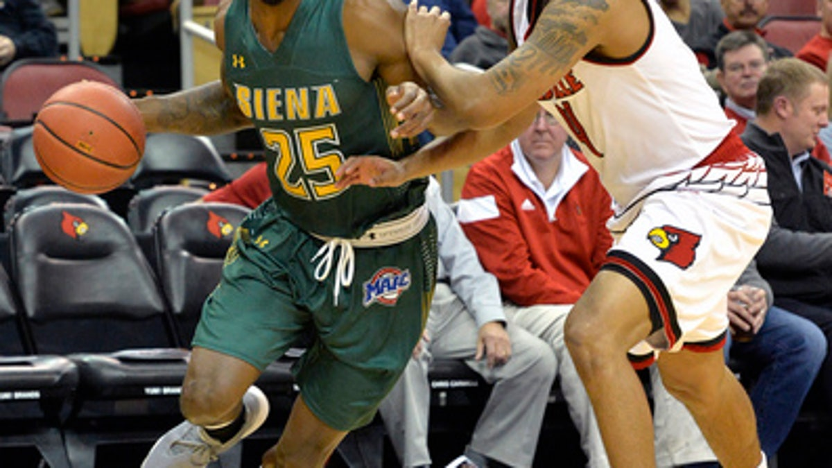 Mahmoud propels Louisville over Siena 86-60 (Dec 06, 2017)