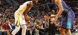 Durant's triple-double lifts Warriors over Hornets 101-87