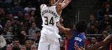 Bucks use fourth-quarter run to beat Pistons 104-100 (Dec 06, 2017)