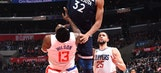 Towns lead Timberwolves past sinking Clippers 113-107 (Dec 06, 2017)