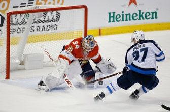 Haley breaks tie in 3rd, Panthers beat Jets 6-4 (Dec 07, 2017)