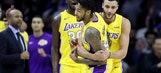 Ingram's 3-pointer lifts Lakers over 76ers (Dec 07, 2017)