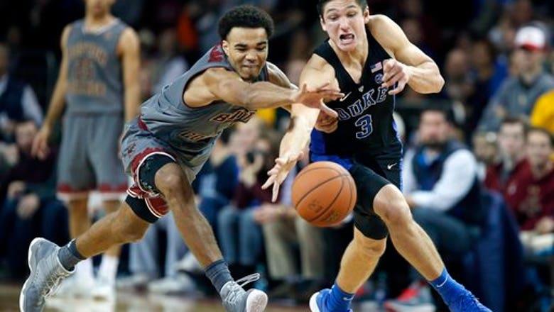 Boston College rocks No. 1 Duke 89-84; Blue Devils' 1st loss