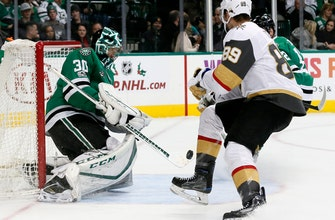 Golden Knights get 3 quick goals in 2nd to beat Stars 5-3 (Dec 09, 2017)