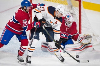 Khaira scores 2 as Oilers beat struggling Canadiens 6-2 (Dec 09, 2017)