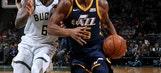 Antetokounmpo scores 37 points, Bucks beat Jazz 117-100
