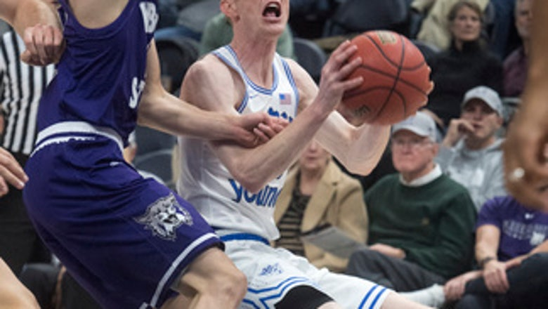 Haws scores season-high 24, BYU beats Weber State 74-68