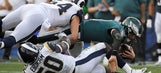 AP sources: Doctors believe Wentz tore ACL, out for year