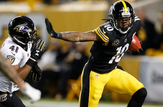 Steelers offense at full strength - finally - vs. Pats