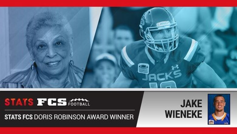 SDSU's Wieneke wins 2017 Doris Robinson Award