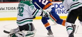 Benn has a goal, 2 assists to lead Stars past Islanders, 5-2