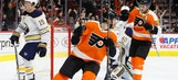 Filppula's goal leads Flyers to 5th straight win