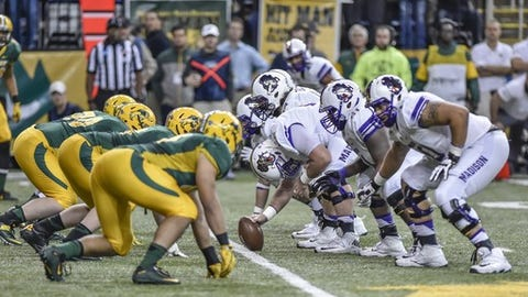 SDSU Jackrabbits routed by JMU 51-16
