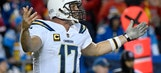 Chargers' Rivers throws 3 picks in crucial loss to Chiefs