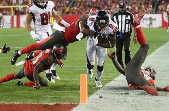 Falcons' Jones has ankle injury, expected to play vs Saints