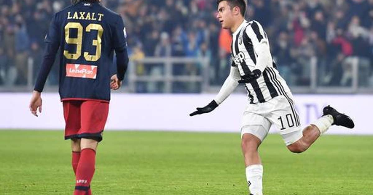 Dybala's touch back in time for Juventus showdown with Roma