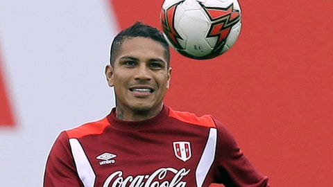Peru's Guerrero set for World Cup after doping ban gets cut