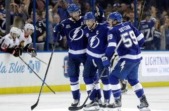 Lightning top Senators on shootout goals from Point, Stamkos