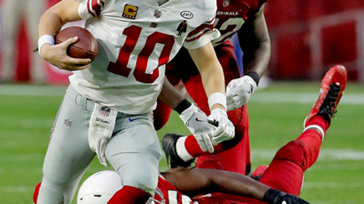 Fitz has a big day, Cardinals get first shutout in 25 years (Dec 24, 2017)