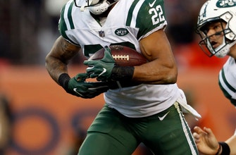Jets' Forte playing on '1 leg,' but plans to continue career