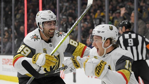 Knights use overtime to slay Kings again 3-2