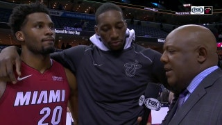 Bam Adebayo describes Heat's defense as going from good to great