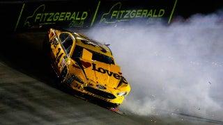 Landon & Matt's NASCAR Christmas Presents: Using burritos to describe a wreck