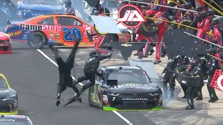 Landon & Matt's NASCAR Christmas Presents: Did Justin Allgaier have the worst pit stop in history?