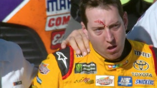 Landon & Matt's NASCAR Christmas Presents: Kyle Busch & Joey Logano brawl in Las Vegas