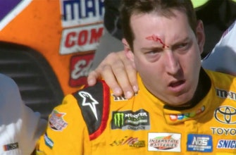 Landon & Matt's NASCAR Christmas Presents: Kyle Busch & Joey Logano brawl in Las Vegas