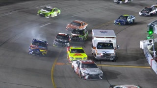 Landon & Matt's NASCAR Christmas Presents: Ambulance causes calamity on pit road