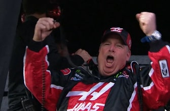 Landon & Matt's NASCAR Christmas Presents: Tony Gibson celebrates winning the Daytona 500