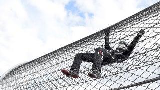 Landon & Matt's NASCAR Christmas Presents: Noah Gragson climbs the fence at Martinsville