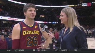 Kyle Korver praises teammate Jae Crowder after Cavs' win over Sixers