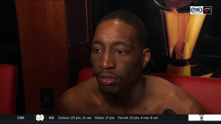 Bam Adebayo says the Heat took it to another level