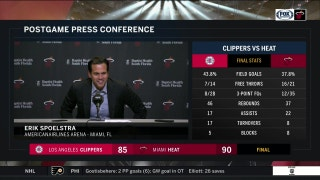 Erik Spoelstra dedicates 455th career victory to Pat Riley