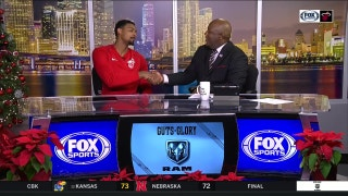 Jordan Mickey on his mindset going up against Clippers