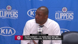 Doc Rivers on Gallinari's first game back