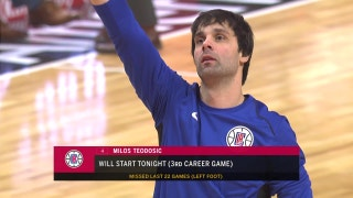 Clippers Live: Milos is back!