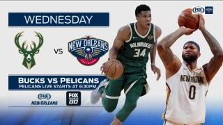 Milwaukee Bucks vs. New Orleans Pelicans preview | Pelicans Live