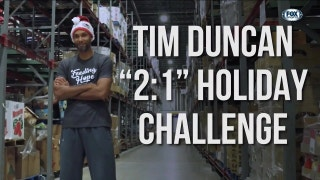 Tim Duncan's 2:1 Holiday Challenge | Spurs Insider
