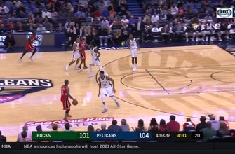 Images of MUST SEE: Boogie flushes it on the run in 4th vs. Bucks