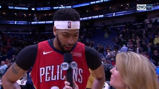Anthony Davis: 'I took myself off minute restrictions'