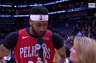 Images of Anthony Davis: 'I took myself off minute restrictions'