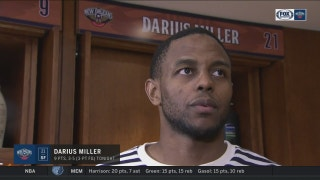 Darius Miller's confidence is growing with each game