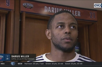 Images of Darius Miller's confidence is growing with each game